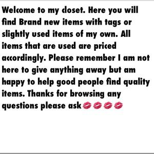 Other - 💋💋💋WELCOME TO MY CLOSET💋💋💋