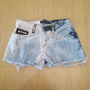 SOLD ❌ Black & Blue Stained & Studded Jeans