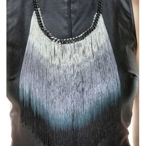 E.Kammeyer Accessories Jewelry - Ombré Fringe Necklace