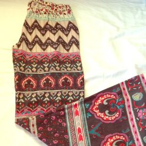 Billabong Pants - Festive Tribal Print Pants
