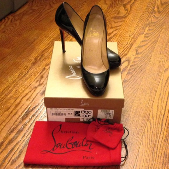 9d30469c98 25% off Christian Louboutin Shoes - Christian Louboutin Simple Pump 120  Patent from Aimee's closet on Poshmark .