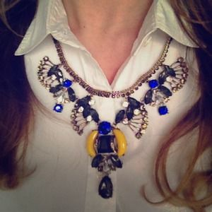 T+J Designs Jewelry - Blue Fan Necklace