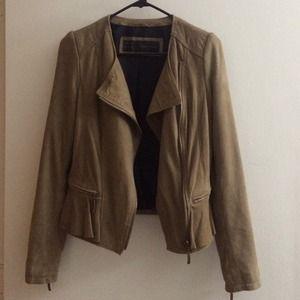 Suede jacket