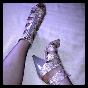 Christian Siriano Shoes - {Christian Siriano Snake Booties}