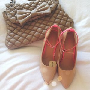 NWT PINK & NUDE PUMPS