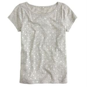 J. Crew Tops - VINTAGE COTTON CAP-SLEEVE TEE IN PAINTED DOTS