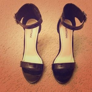 Bertinni Shoes - Ankle strap heels.