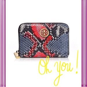  Authentic Tory Burch Coin Wallet 