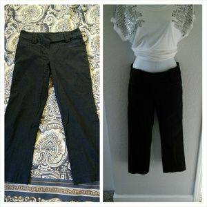 Zara Pants - Zara Basic blk capri pants