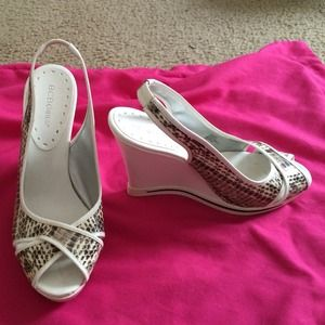 Bcbg Snake Print Shoes On Poshmark