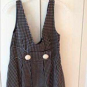 BB Dakota polka dot dress
