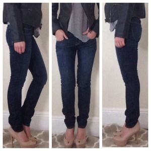 Wildfox Denim - Wildfox skinny dark jeans size 27