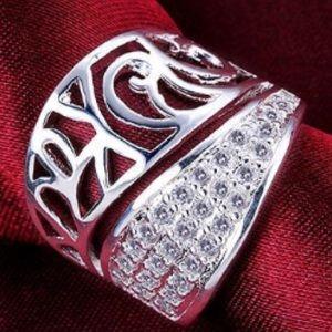 Jewelry - 925 Silver Zircon Ring