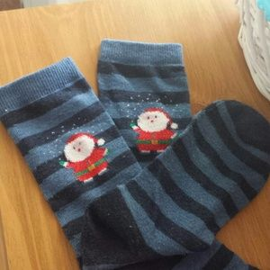High length santa socks