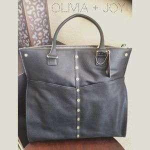 Black Olivia + Joy Handbag