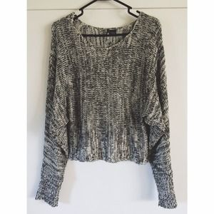 Sparkle & Fade dolman cropped knit