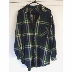 🚫Sold🚫Plaid shirt dress/flannel