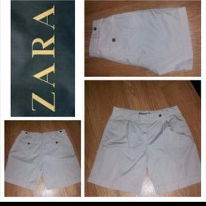 Zara Denim - SZ S Khaki Shorts