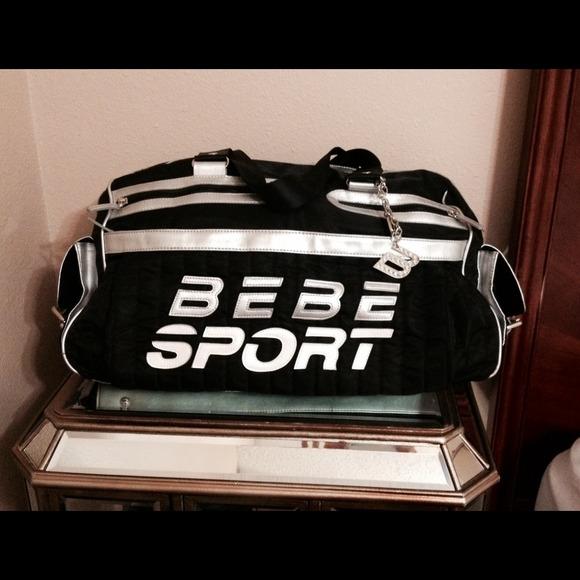 Bebe Bebe Sport Logo Duffel Bag Gym Bag 😊 From Anna S