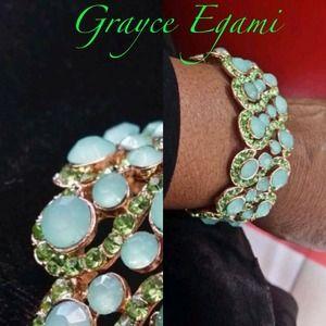 Jewelry - SOLD! Fine Emerald Green Bracelet