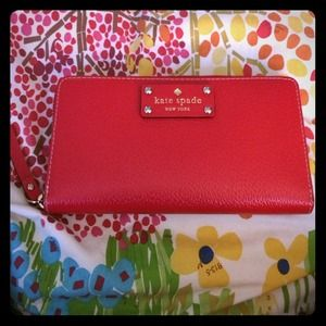 Host Pick NWT Kate Spade Red Leather Wallet