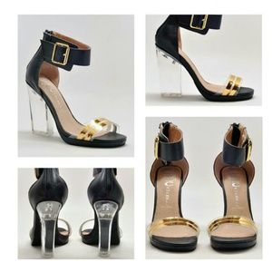 JC Soiree with Lucite Heel