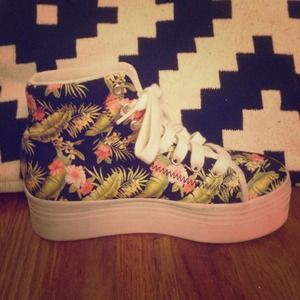 Jeffrey Campbell Shoes - Jeffrey Campbell HOMG platform sneakers