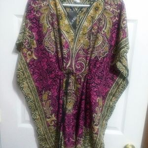 Pearl Dresses - Multicolored tunic dress