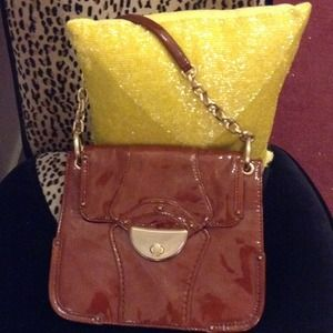 BOTKIER Paris RARE RUSSET gold chain shoulder bag