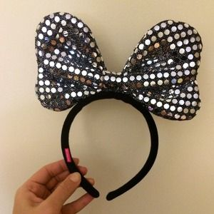 Bling bling Big Ribbon Hairband