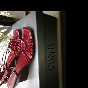 Franco Sarto  6.5 Red Sandals