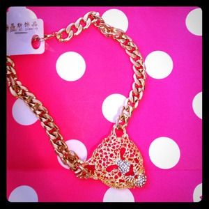 Jewelry - 🎉Gold lion head necklace
