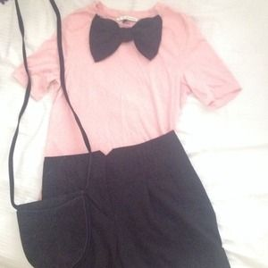 Light Brown Tan Bow Tie Shirt S From Jenny 39 S Closet On