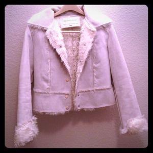 Faux Fur/Suede Jacket