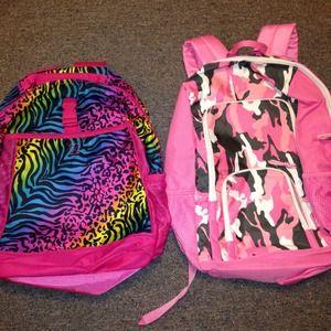 Girls backpack. $20 each. Never used!