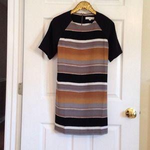 LOFT Dresses & Skirts - Loft striped dress.