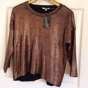 BB Dakota Sweaters - BB dakota Chey sweater NWT. Open back.