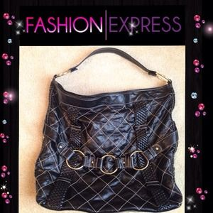 Fashion Express Handbags - 💕♨Large Black Hobo Purse♨💕