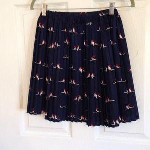 Forever 21 Dresses & Skirts - Forever 21 bird print skirt