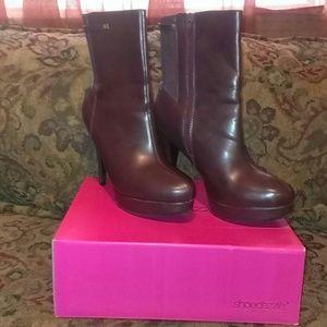 Burgundy Calf High Boots Only worn a few times!