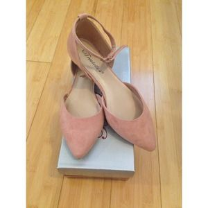 Breckelle's Shoes - Blush D'orsay Flats