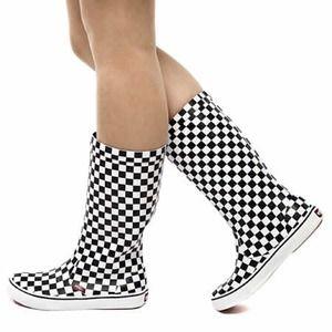 61a2ba1455f Vans Shoes - VANS Rainfall Checkered Wellies Rain Boots