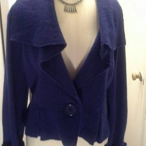 Very cute royal blue blazer