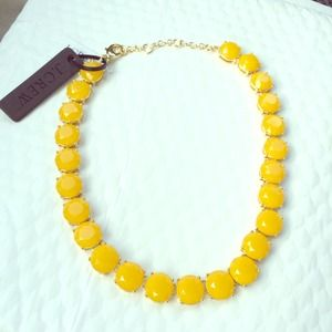 J. Crew Jewelry - J. Crew Yellow Stone Necklace
