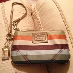 Authentic Legacy Coach Wristlet
