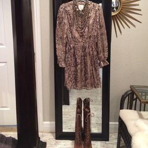 Dresses & Skirts - Aryn K. silk mini dress