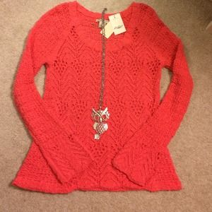 💜Lucky Brand Sweater💜