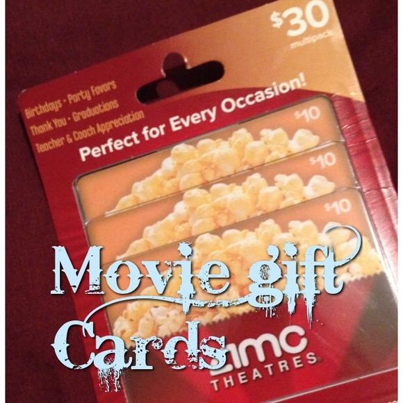 Amc Movie Gift Cards 3000 Value