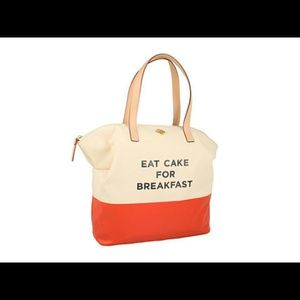 NWT KATE SPADE EAT CAKE FOR BREAKFAST Bag
