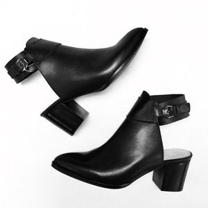 Zara Boots - Zara Cut Out Booties